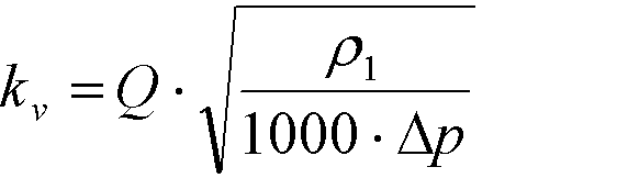 Calculations for Liquids kV